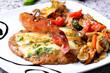 fetta di carne e pancetta