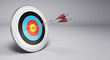 Arrows Hitting Target, Archery