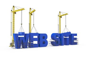 Web Sites Construction concept