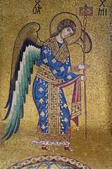 Palerno - Mosaic of Archangel Michael in La Martorana