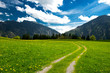Alm in den bayerischen Alpen