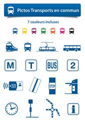 Pictos Transports en commun