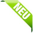 """Banner """"Neu"""" grün"""