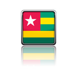 National flag of Togo