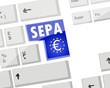 Clavier : Sepa Sigle Euros