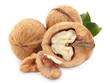Dried walnuts.