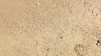 砂に書いたハート