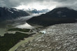 Aerial View of Juneau Ice Field Glaciers