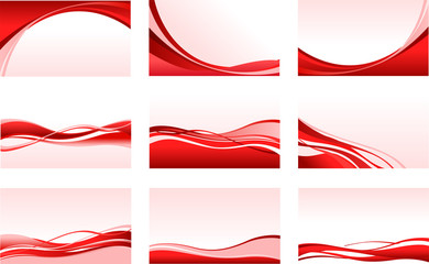 abstract red backgrounds