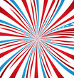 American independence day swirl wave background vector