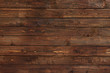 canvas print picture - close up of wall made of wooden planks