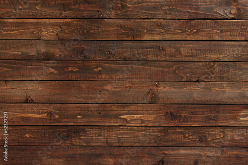 canvas print picture close up of wall made of wooden planks
