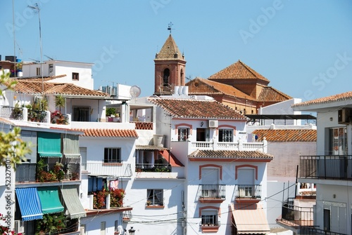 Village centre, Torrox, Andalusia © Arena Photo UK