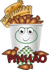 Pinhão festa Junina