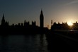 Silhouette of Big Ben a