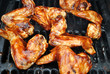 Barbequing Saucy Wings