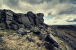 stanage edge cliffs