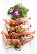 Deep fried prawn with Tamarind sauce