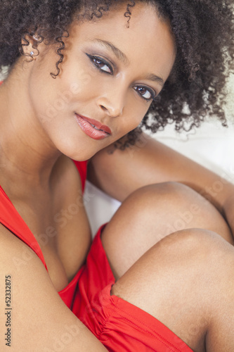 Sexy Mixed Race African American Girl