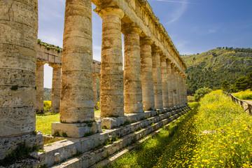 Säulen des Tempels von Segesta, Sizilien