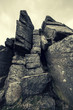peak district rock