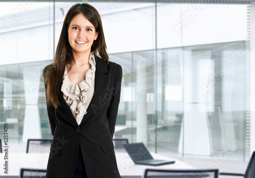 Beautiful secretary portrait
