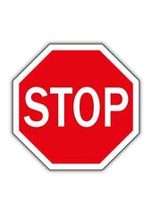 stop schild sign