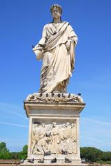 Livorno, Italy the Gran Duke Leopold II marble statue