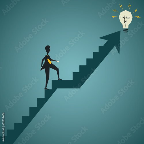 business catch new idea concept stock vector