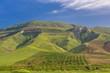 Raue Landschaft, Sizilien