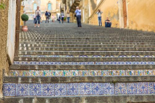canvas print picture Santa Maria del Monte Caltogirone Sizilien