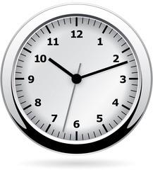Analog wall clock - vector illustration