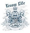 Постер, плакат: Venom Life