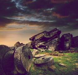 stone wheels