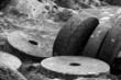 derbyshire millstone wheels