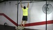 Kipping and butterfly pull ups crossfit exercise