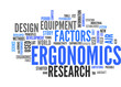Ergonomics (english tag cloud)