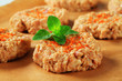 Raw vegetable patties