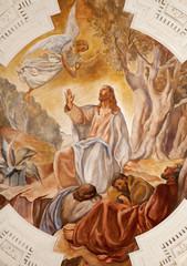 Palermo -  Jesus in Gethsemane in  La chiesa del Gesu