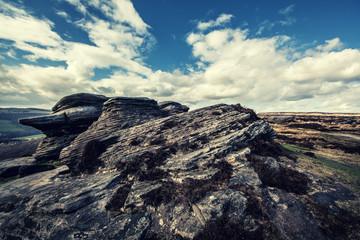 rock formation landscape