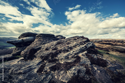rock formation landscape