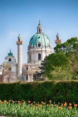 Vienna (Austria) | St. Charles's Church (Karlskirche)