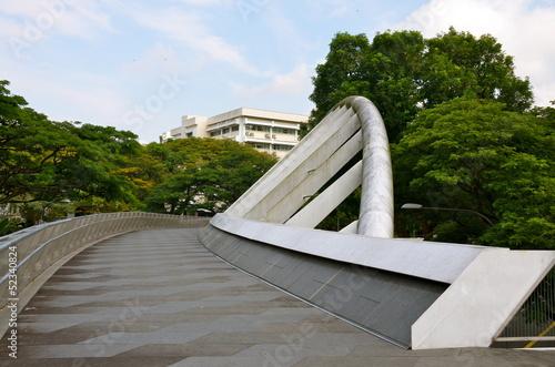 Aluminium Singapore The Alexandra Arch Bridge in Singapore