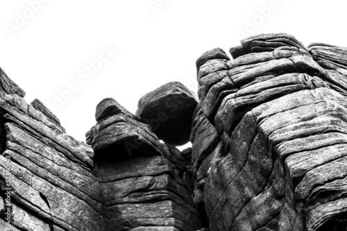 rock cliff boulder