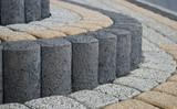 Fototapety pattern on the pavement