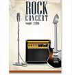 Rock concert poster