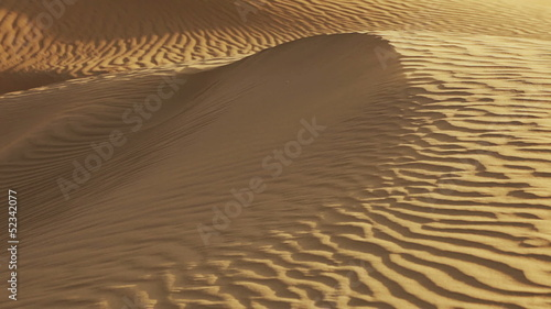 Video 1920x1080. A sand dune close-up. India