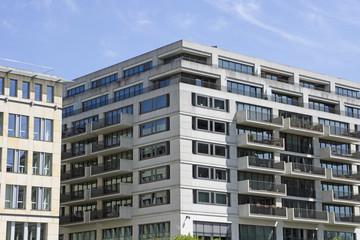 Moderne Wohngebäude in Berlin, Deutschland