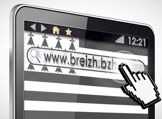 tablette tactile 3d : site www.breizh.bzh