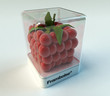 Cubic raspberry exhibition